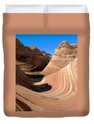 'the Wave' North Coyote Buttes 19 Duvet Cover