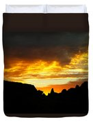 The Way A New Day Shines Duvet Cover