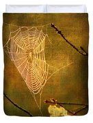 The Web We Weave Duvet Cover by Darren Fisher