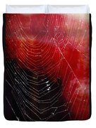 The Webs We Weave Duvet Cover