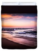The Wedge Newport Beach California Picture Duvet Cover by Paul Velgos