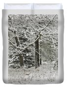 The Weight Of Winter Duvet Cover