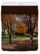 The Well In The Distance-davidson College Duvet Cover