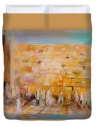 The Western Wall Duvet Cover