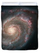 The Whirlpool Galaxy Duvet Cover