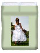The White Dress Duvet Cover