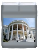 The White House South Portico Duvet Cover