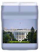 The Whitehouse - Washington Dc Duvet Cover