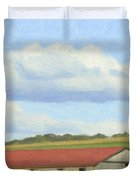 The Whole Farm To Himself Duvet Cover