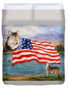 The Wildlife Freedom Collection 1 Duvet Cover by Andrew Read
