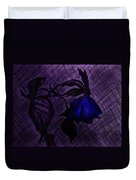 The Wilted Blue Rose Duvet Cover