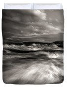 The Wind And The Sea Duvet Cover by Bob Orsillo