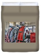 The Winding Engine Duvet Cover