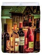 The Wine Shop Duvet Cover