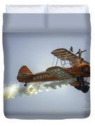 The Wing Walker  Duvet Cover
