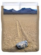The Winner Death Valley Moving Rock Duvet Cover