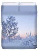 The Winter Light Duvet Cover