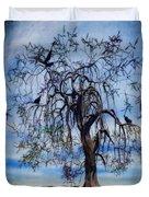 The Wishing Tree Duvet Cover by John Edwards