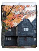 The Witch House Of Salem Duvet Cover