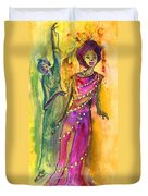 The Witches From Las Palmas Duvet Cover
