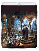 The Wizards Castle Duvet Cover