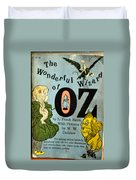 The Wonderful Wizard Of Oz Duvet Cover