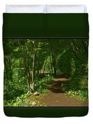 The Wooded Path... Duvet Cover