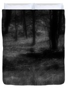 The Woods Are Lovely Dark And Deep Duvet Cover