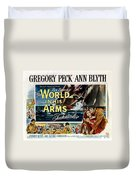 The World In His Arms 1952 Duvet Cover