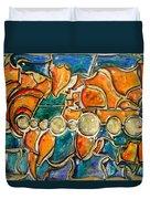 The World - Marcello Cicchini Duvet Cover