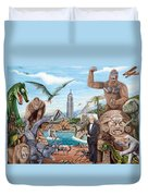 The World Of Willis O'brien Duvet Cover