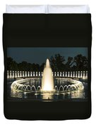 The World War II Memorial Duvet Cover