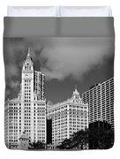 The Wrigley Building Chicago Duvet Cover