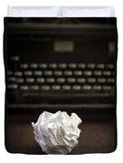The Writer Duvet Cover