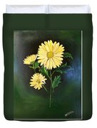 The Yellow Daisy Duvet Cover