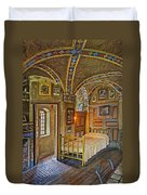 The Yellow Room At Fonthill Castle Duvet Cover