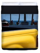 The Yellow Truck Duvet Cover