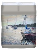 The Youngstown Yachts Duvet Cover