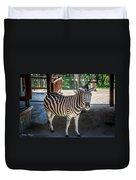 The Zebra Duvet Cover