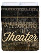 Theater Duvet Cover