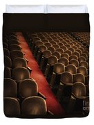 Theater Seats Duvet Cover