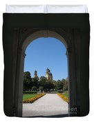 Theatiner Church Munich Duvet Cover