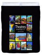 Theatres Of Washington Dc Duvet Cover by Jost Houk