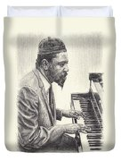 Thelonious Monk II Duvet Cover