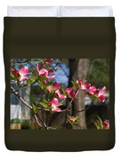 Them Cheery Little Dogwoods Duvet Cover