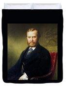 Theodore Roosevelt, Sr Duvet Cover
