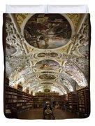 Theological Hall Strahov Monastery Duvet Cover