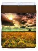 There Is A Sun After The Storm Duvet Cover