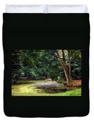 There Is Always A Hope. Park Of De Haar Castle Duvet Cover by Jenny Rainbow