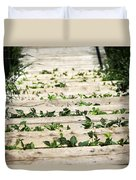 There Is No Stopping Nature Duvet Cover